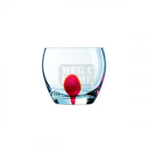 Чаши 4 броя Luminarc Drip Red 310-350 мл.