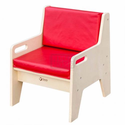 Детско столче тапицирано с облегалка Classic World