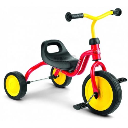 Триколка с педали за деца Puky Fitsch червена