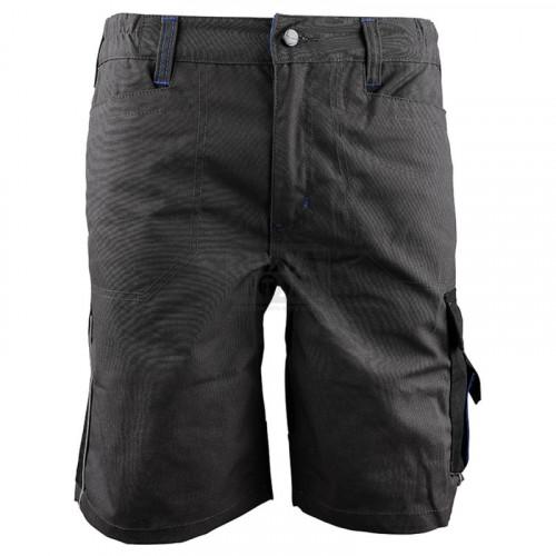 Работен къс панталон Stenso Prisma тъмно сив