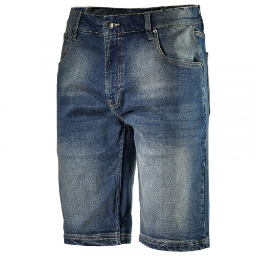 Къс дънков панталон Diadora Bermuda Stone син