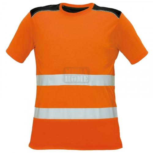 Сигнална тениска Knoxfield HV Cerva оранжев