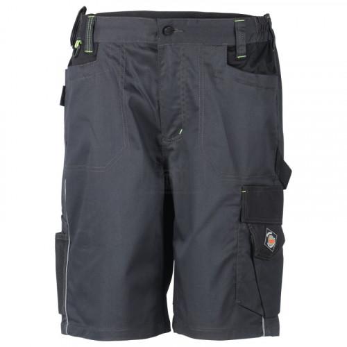 Работен къс панталон Prisma Spandex Stenso сив