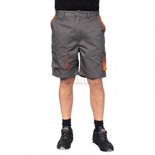 Работен къс панталон Desman Stenso сив