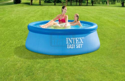 Надуваем басейн с помпа и филтър Intex 28108NP