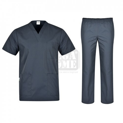 Комплект туника и панталон Colombo сив от XS до XXXXL