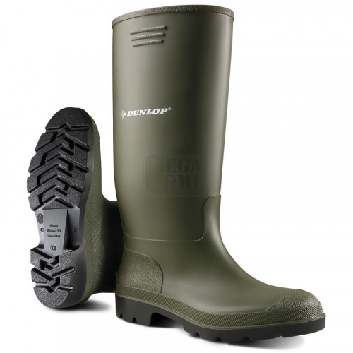 Гумени ботуши Dunlop Pricemastor зелен