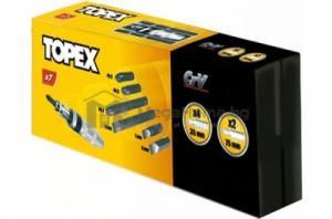 Отвертка ударна марка Topex комплект с 6 бр. накрайници