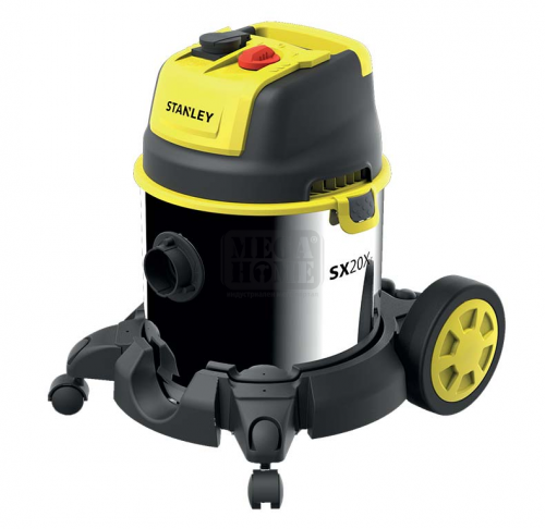 Прахосмукачка Stanley за сухо и мокро почистване 1600W SXVC30XTD