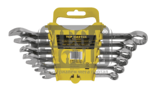 Ключ звездогаечен к-т Top Master Pro 8-17мм на стойка CR-V TMP