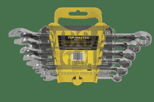 Ключ звездогаечен к-т Top Master Pro 6-22мм на стойка CR-V TMP