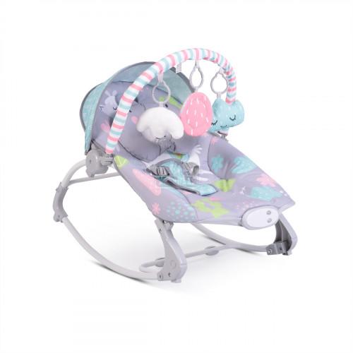 Детски шезлонг Moni Llama сив