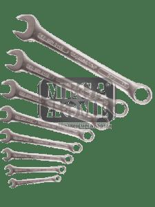 Ключ звездогаечен к-т Top Master Pro 8бр 8-19мм CR-V PRESS TMP