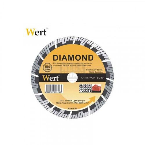 Диамантен диск SUPER TURBO WERT 115-230 мм