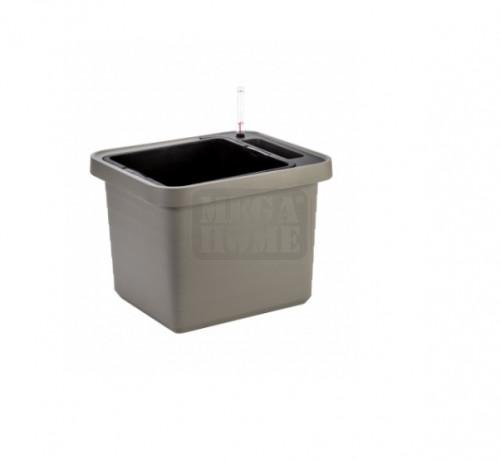 Саксия с напоителна система Plastia Berberis Uno 45х39х35 см