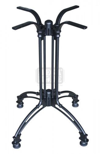 Алуминиева стойка в черен цвят PARITE