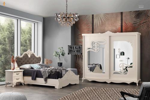 Спален комплект с легло 160х200 без рамка Abay Sedef