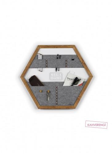 Органайзер за стена Omer 60x1,5x52 см