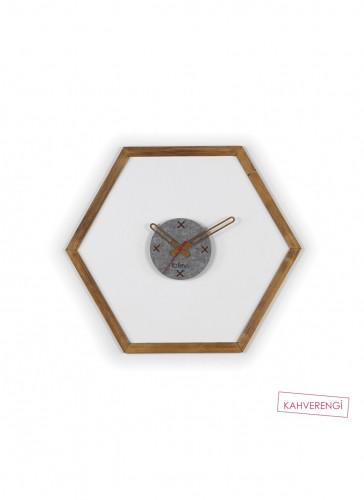 Стенен часовник Omer 60x1,5x52 см