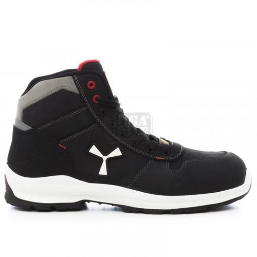Зимни работни обувки Payper Get Force Mid S3 SRC ESD Черно
