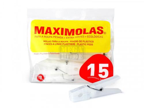 Прозрачни щипки за пране Maximolas 7,5 см