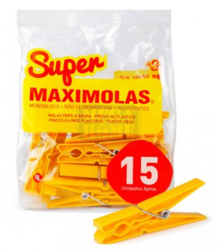 Цветни щипки за пране Maximolas 9 см
