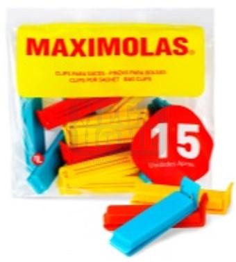 Клипсове за запечатване Maximolas 6 см