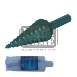 Бургия конусовидна Topex размер 4-22 мм