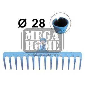 Гребло YAPARLAR 14 зъба с отвор за дръжка ф28мм