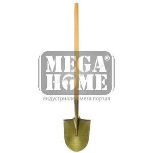 Лопата крива Gold с дръжка Herly