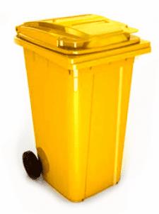 U2X 240L 240 л жълт